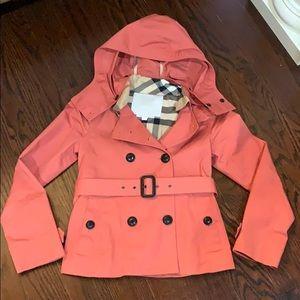 Burberry jacket size 10Y